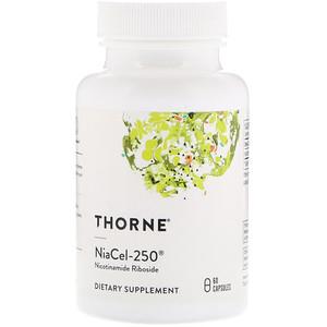 Торн Ресерч, Niacel-250, Nicotinamide Riboside, 60 Capsules отзывы