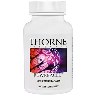 Thorne Research, Resveracel, 60 Vegetarian Capsules