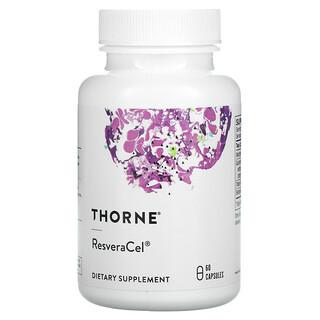 Thorne Research, ResveraCel, 60cápsulas
