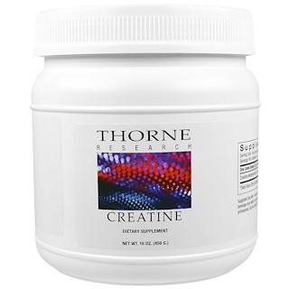 Thorne Research, 크레아틴, 16oz(450g)