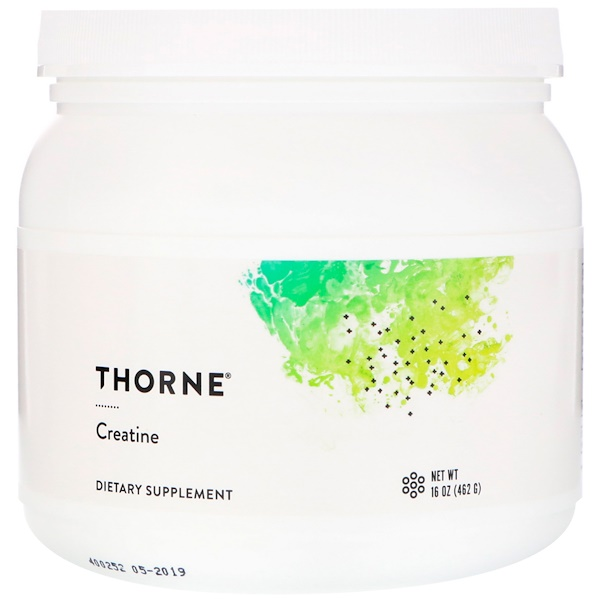 Thorne Research, Creatina, 16 oz (450 g)