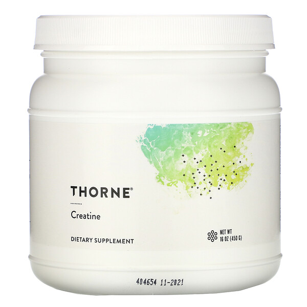 Thorne Research, Creatine, 16 oz (462 g)