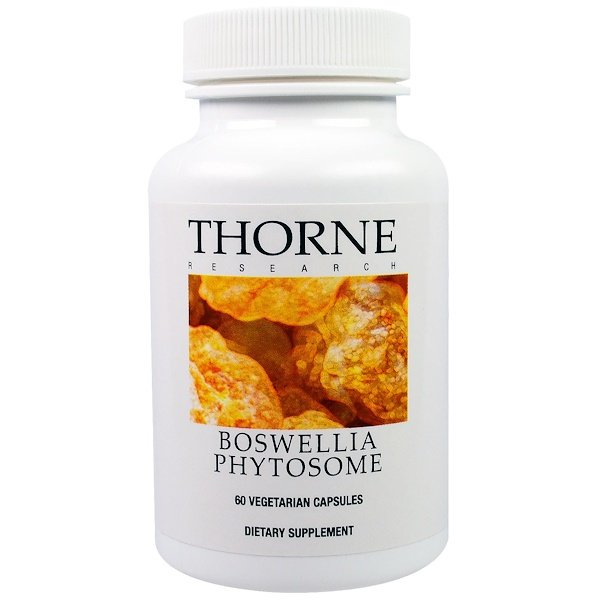 Thorne Research, Boswellia Phytosome, 60 Vegetarian Capsules
