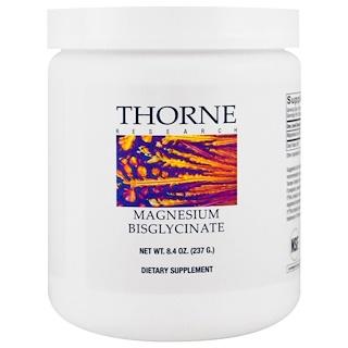 Thorne Research, Magnesium Bisglycinate, 8.4 oz (237 g)