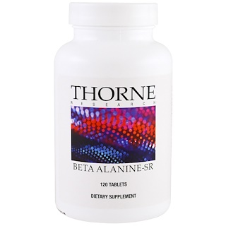 Thorne Research, Beta Alanina-SR, 120 tabletas