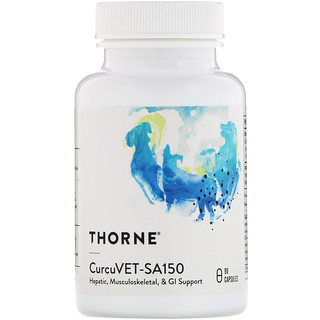 Thorne Research, CurcuVET-SA150, 90 Capsules