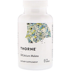 Thorne Research, 蘋果酸鈣,120粒素食膠囊