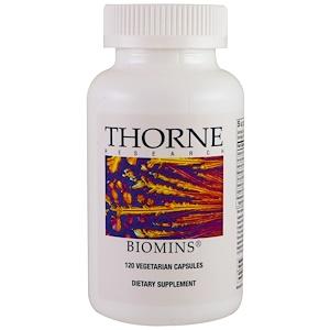 Thorne Research, Biomins, 120 растительных капсул купить на iHerb