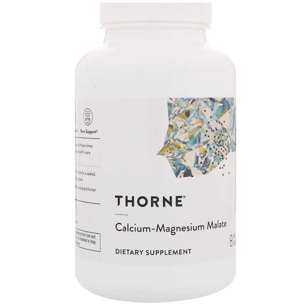 Thorne Research, Calcium-Magnesium Malate, 240 Capsules