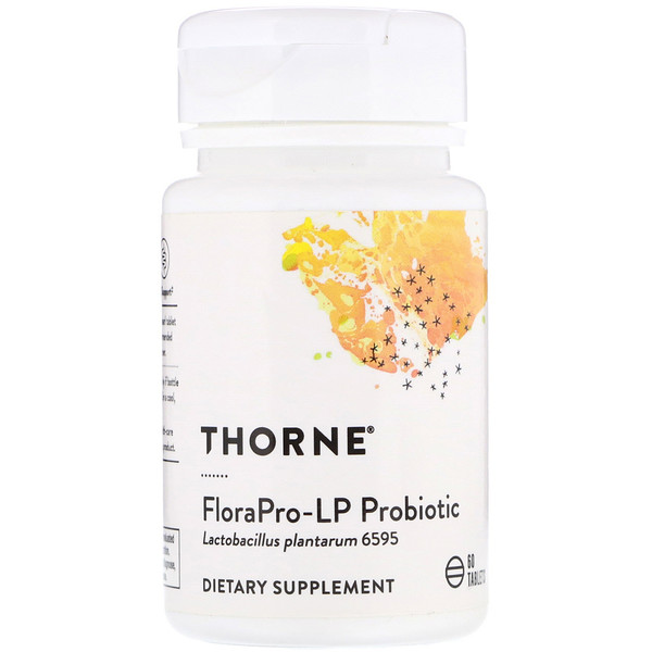 Thorne Research, FloraPro-LP Probióticos, 60 Tabletas