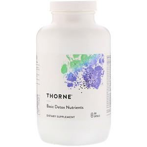 Торн Ресерч, Basic Detox Nutrients, 360 Capsules отзывы покупателей