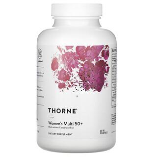 Thorne Research, Women's Multi 50+, 180 Capsules