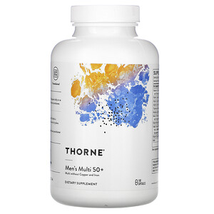 Thorne Research, Men's Multi 50+, 180 Capsules