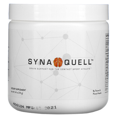 Thorne Research Synaquell, Brain Support For The Contact Sport Athlete, 7.41 oz (210 g)