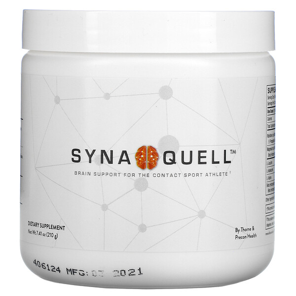 Thorne Research, Synaquell, Brain Support For The Contact Sport Athlete, 7.41 oz (210 g)