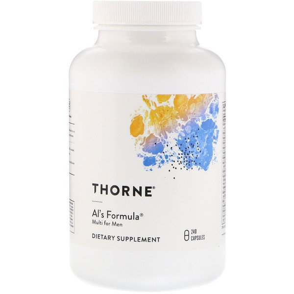Thorne Research, Al's Formula, Multi for Men, 240 Capsules