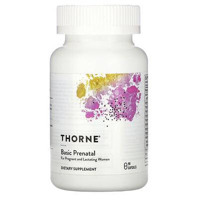 Купить Thorne Research Basic Prenatal, 90 капсул