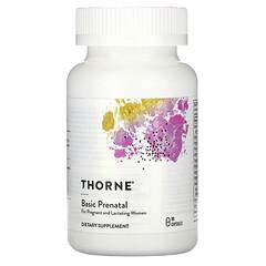 Thorne Research, 產前基礎營養,90 粒膠囊