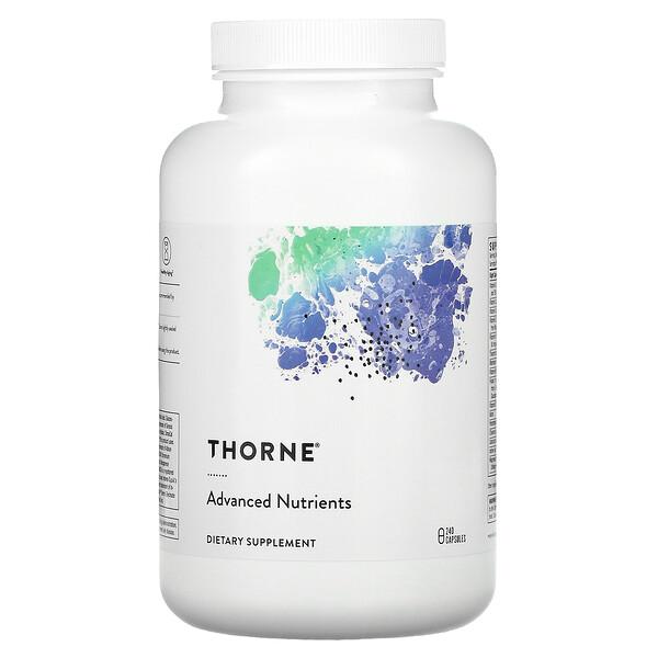 Thorne Research, חומרים מזינים מתקדמים, 240 כמוסות