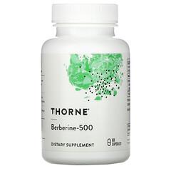 Thorne Research, 小檗堿-500,60 粒膠囊