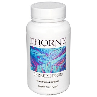 Thorne Research, Berberine-500, 60 Vegetarian Capsules