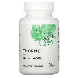 Thorne Research, ベルベリン500、カプセル60粒