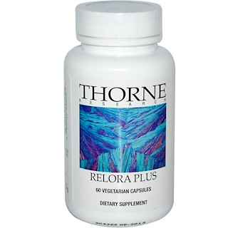 Thorne Research, Relora Plus, 植物性カプセル60粒