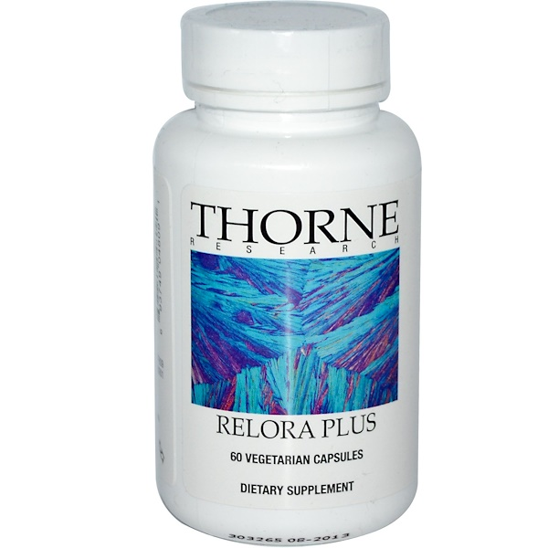 Thorne Research, 리로라 플러스, 식물성 캡슐 60정