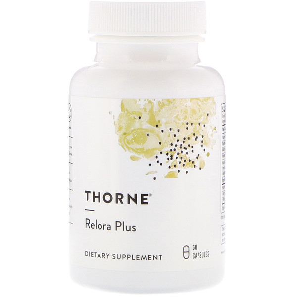 Thorne Research, Relora Plus, 60 cápsulas