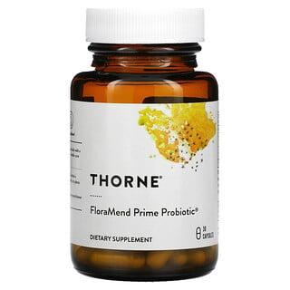 Thorne Research, FloraMend Prime Probiotic, 30 Capsules