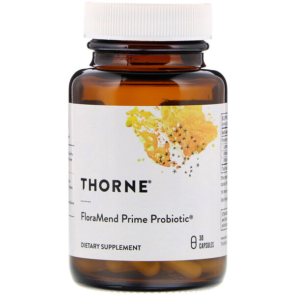 Thorne Research, FloraMend Prime Probiotic, 30 Capsules