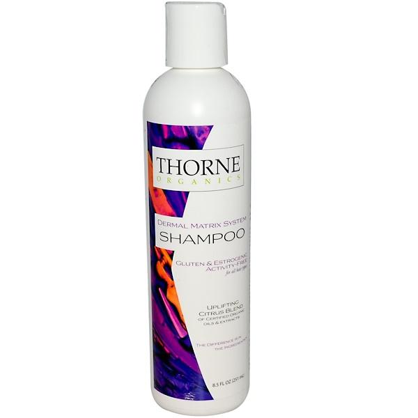 Thorne Research, Thorne Organics, Shampoo, Uplifting Citrus Blend, 8.5 fl oz (251 ml) (Discontinued Item)