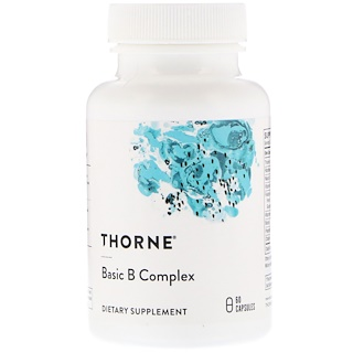 Thorne Research, Basic B Complex, 60 capsules végétales