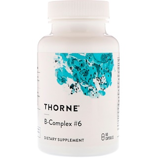 Thorne Research, B-Complex #6, 60 Capsules