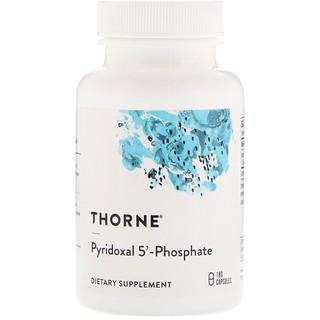 Thorne Research, Pyridoxal 5'-Phosphate، عدد 180 كبسولة