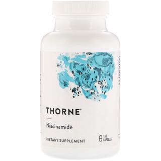 Thorne Research, نِياسِينامِيد,180 كبسولة نباتية