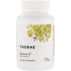 Thorne Research, Ultimate-E,60 粒軟膠囊