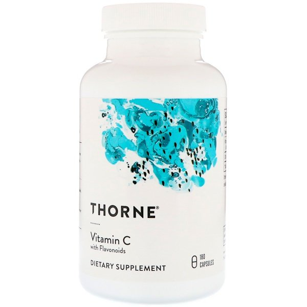 Thorne Research, Vitamin C With Flavonoids, 180 Capsules