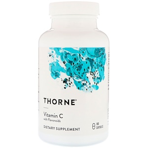 Торн Ресерч, Vitamin C with Flavonoids, 180 Capsules отзывы покупателей