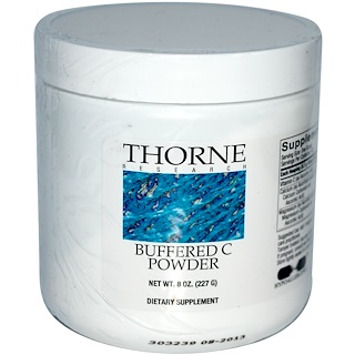 Thorne Research, Buffered C Powder, 8 oz (227 g)