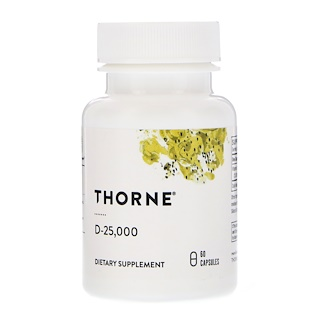 Thorne Research, D-25,000, 60 كبسولة