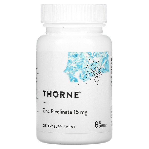 Zinc Picolinate, 15 mg, 60 Capsules