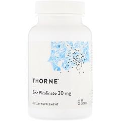 Thorne Research, 雙倍強度吡啶甲酸鋅,180粒素食膠囊
