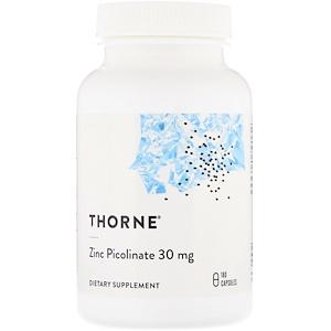 Торн Ресерч, Zinc Picolinate, 30 mg , 180 Capsules отзывы