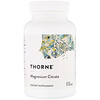 Thorne Research, Magnesium Citrate, 90 كبسولة نباتية