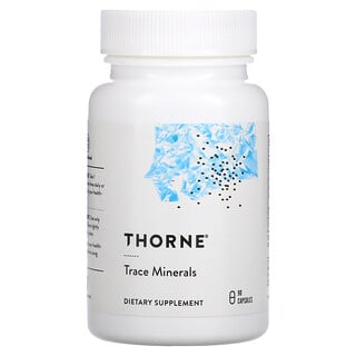 Thorne Research, Trace Minerals, 90 Capsules