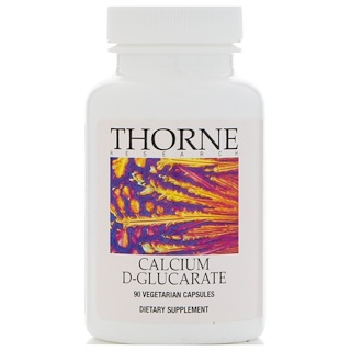 Thorne Research, Calcium D-Glucarate, 90 Vegetarian Capsules
