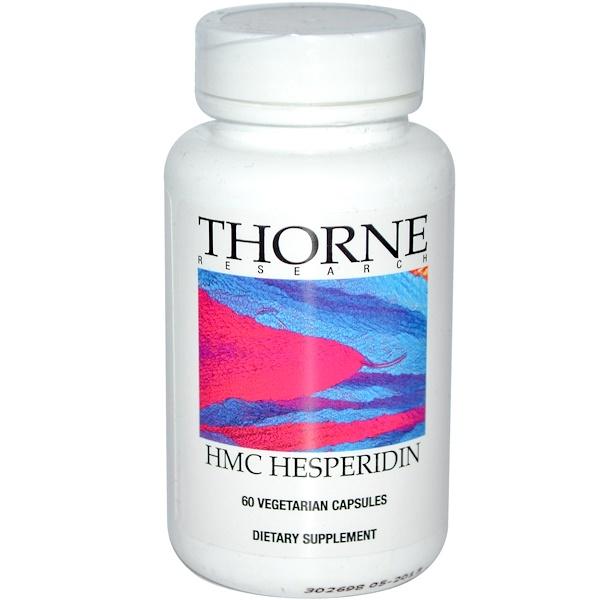 Thorne Research, HMC Hesperidin, 60 Vegetarian Capsules (Discontinued Item)