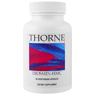 Thorne Research, Diosmin-HMC, 60 Vegetarian Capsules