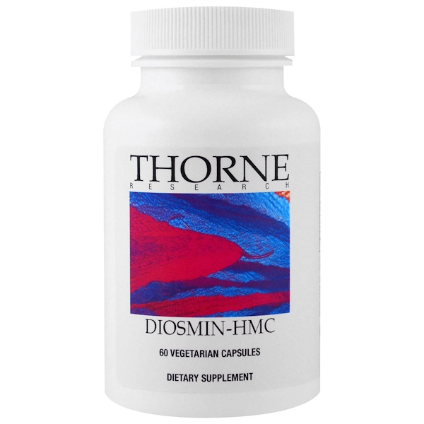 Thorne Research, Diosmin-HMC, 60 Vegetarian Capsules (Discontinued Item)